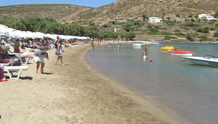 Agrio Livadi Beach at Patmos.
