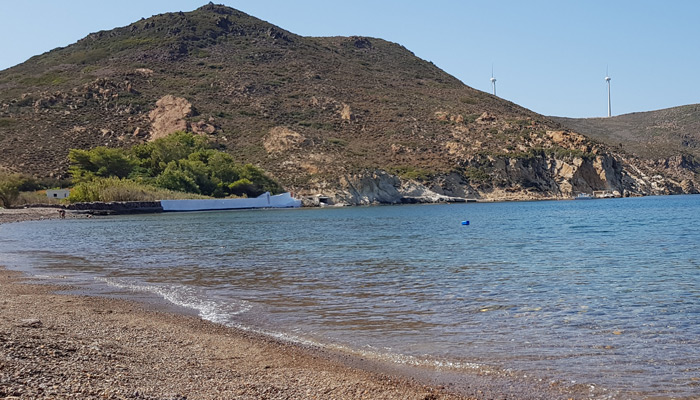 Lampi Beach at Patmos.