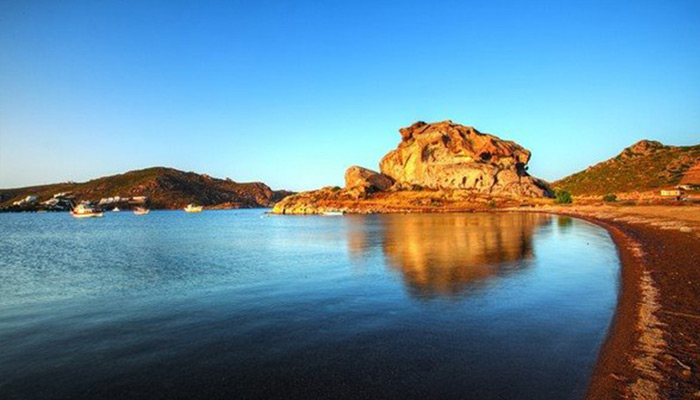Petra Beach at Patmos.